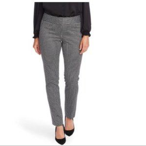 Vince Camuto Classic Check Ankle Trouser